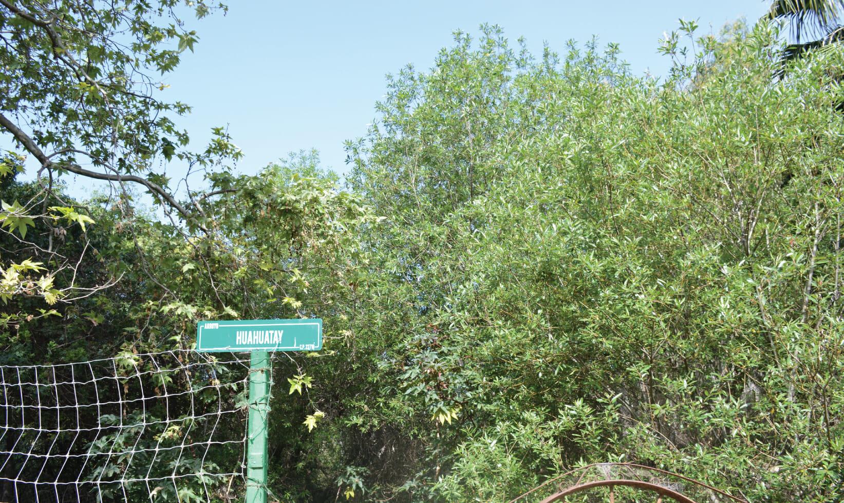Historica ruta de Rancho Guacatay